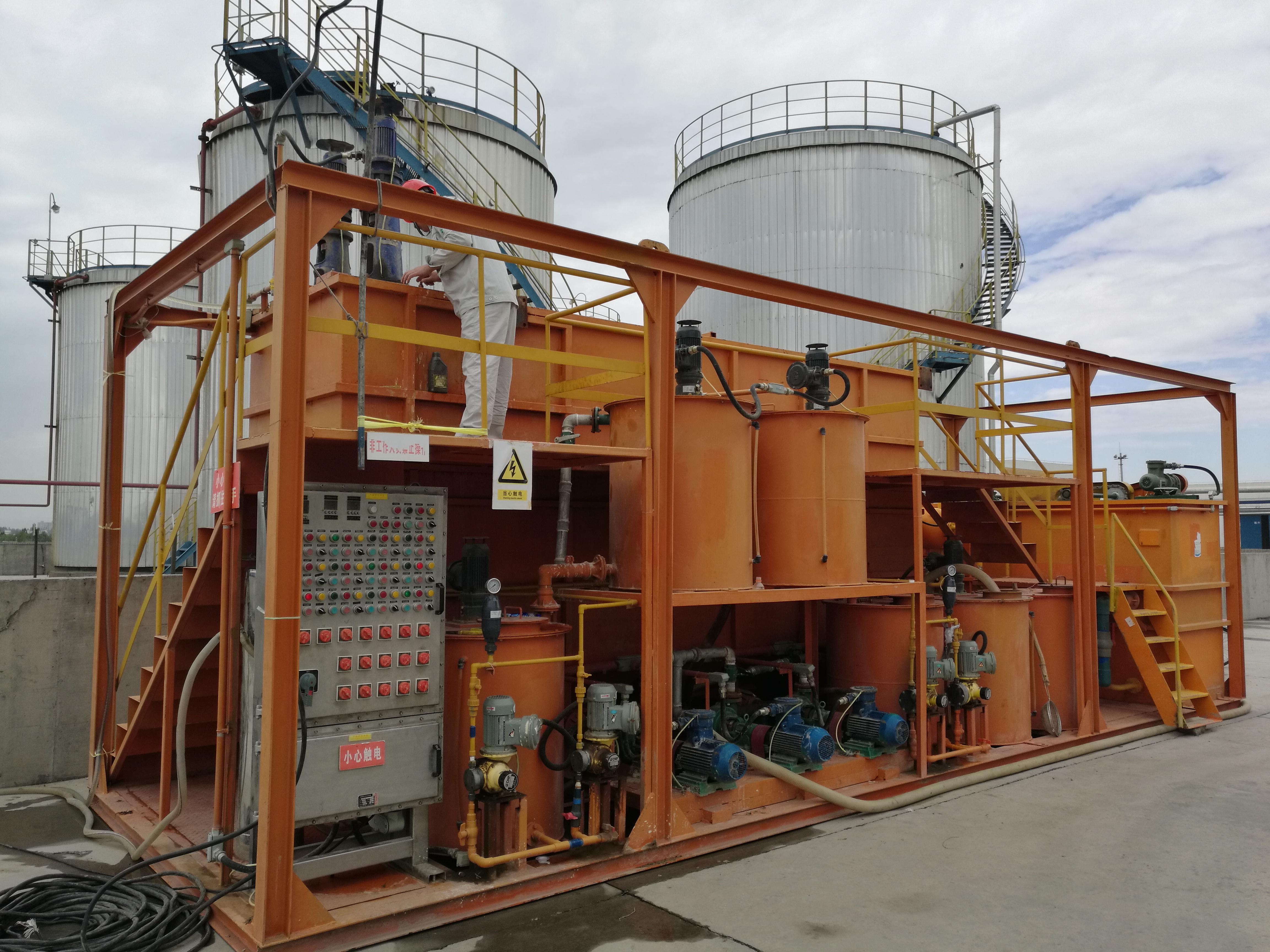 石油开采作业废水处理