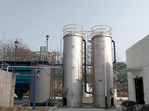 臭氧催化氧化反应装置