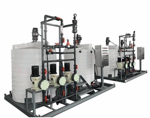 一体化水处理加药装置