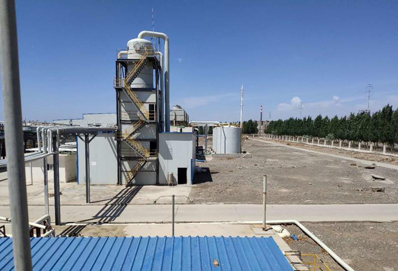 新疆石油炼化厂反渗透浓水处理项目