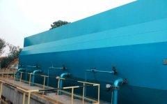 自来水厂建设一体化净水器