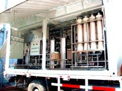 移动车载(应急)一体化净水处理设备
