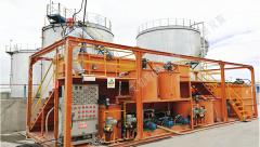 油气田泥浆处理后油田污水的最终处理
