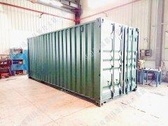 5m³/h车载移动式(野外)饮用水处理设备