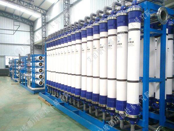 新疆油田苦咸水淡化为饮用水净化项目