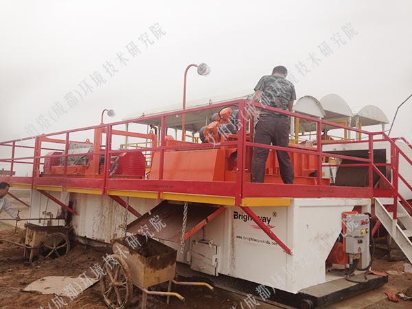 塔里木油田泥浆无害化处理项目