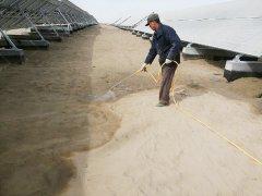 库尔勒三十三团光伏电厂藻类绿色固沙项目