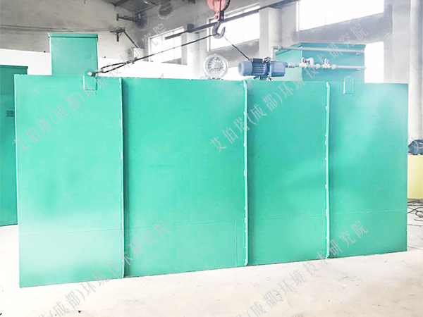 维修一体化污水处理设备方法