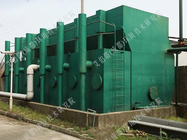 自来水厂一体化净水器工艺